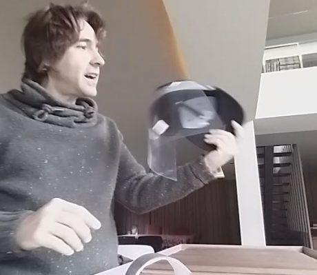 gorra mascarilla